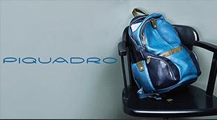 Piquadro - Genti si rucsaci business din piele